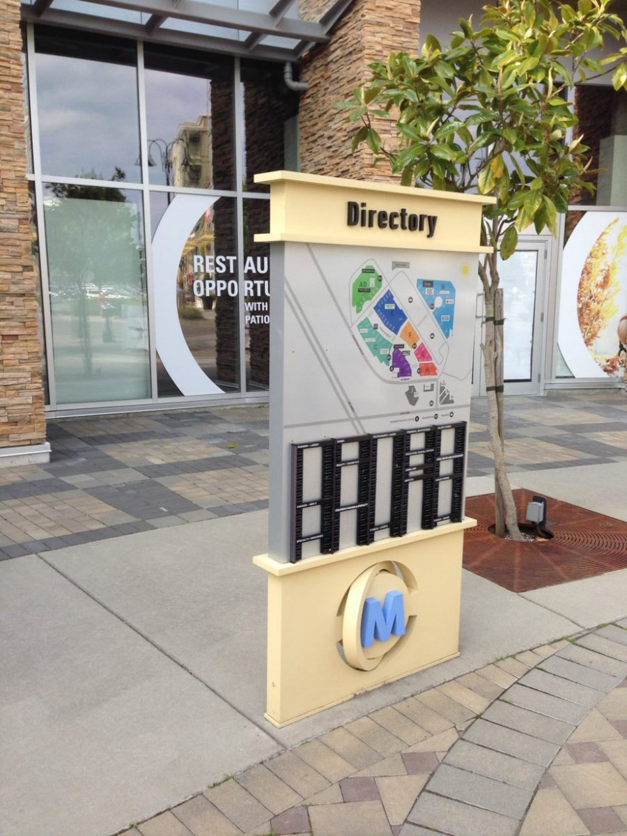 Directory-Sign-Mall