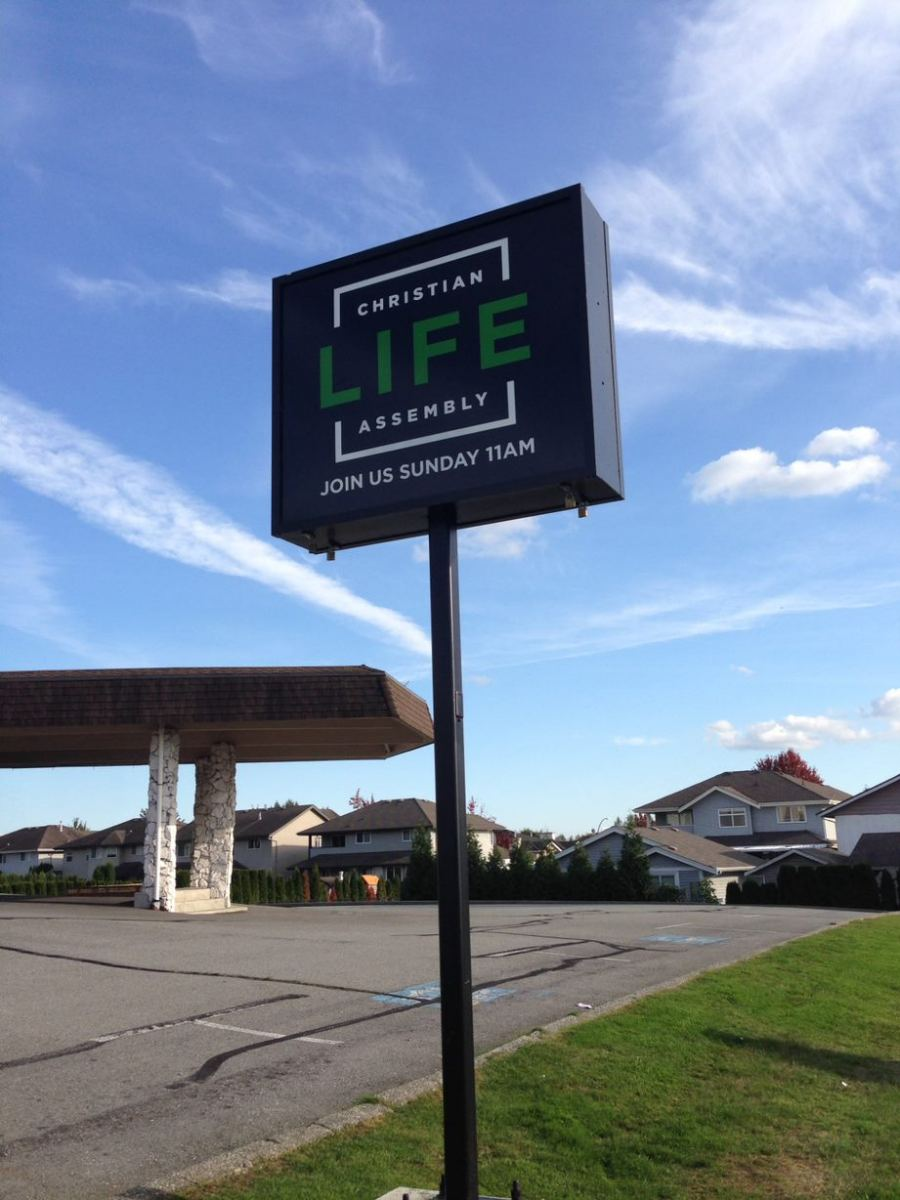 Freestanding-Sign-Christian-LIfe